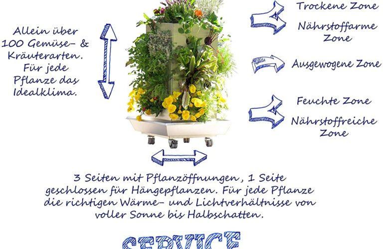 Paul Potato Kartoffelturm Erfahrungen Wohnzimmer Kubi Ttg Mini Edelstahl Pflanzgef Fr Balkon Mit Komposter