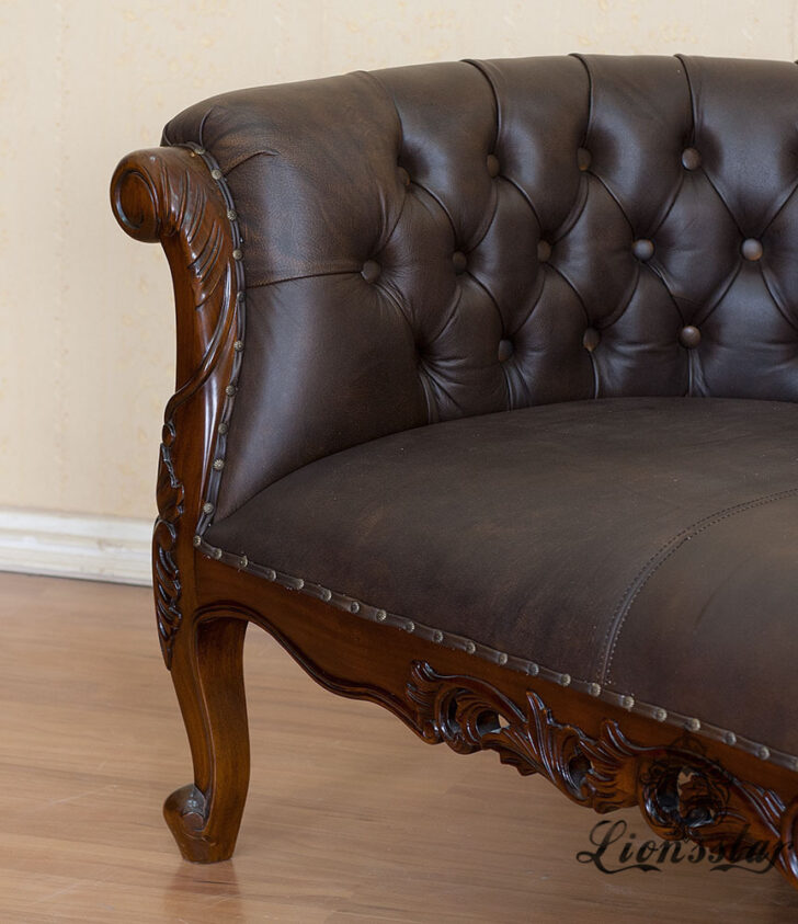 Medium Size of Recamiere Barock Mahagoni Holz R138 Lionsstar Gmbh Sofa Mit Bett Wohnzimmer Recamiere Barock