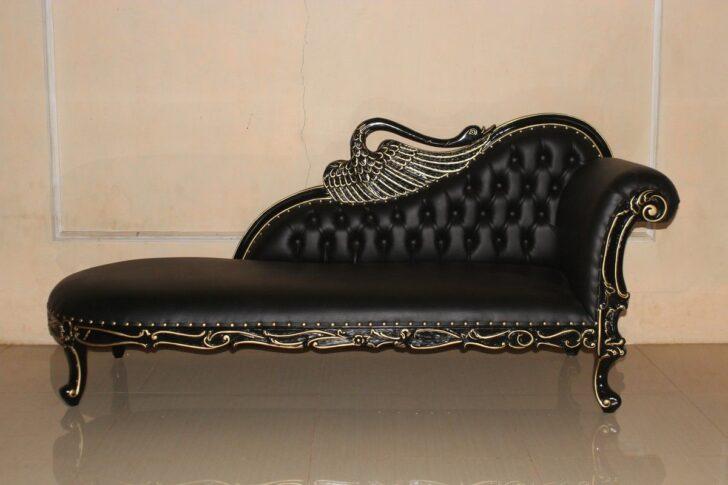 Medium Size of Recamiere Barock Swan Sofas Bett Sofa Mit Wohnzimmer Recamiere Barock
