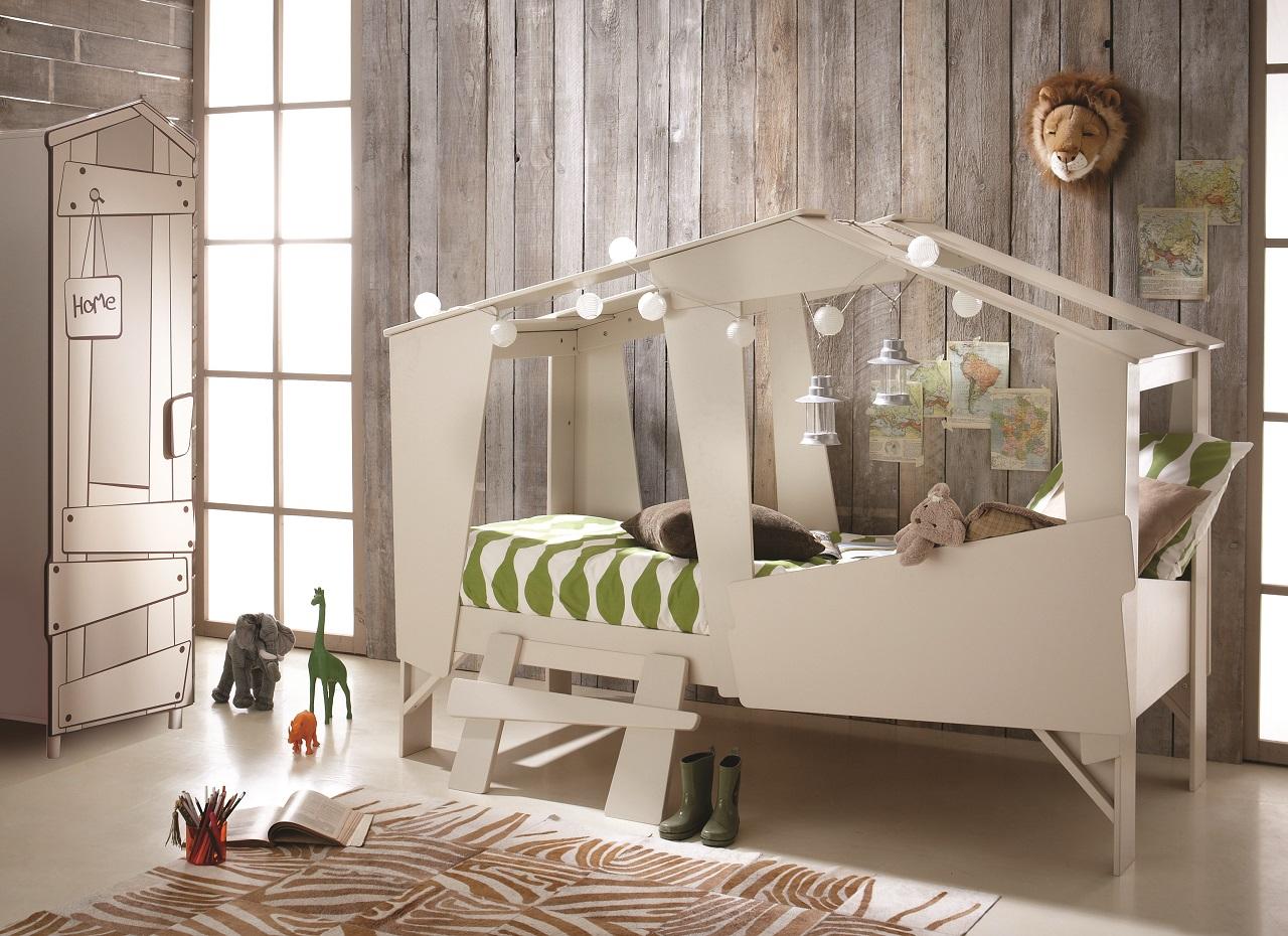 Full Size of Hausbett 100x200 90x200 Beige Grau Furnart Bett Weiß Betten Wohnzimmer Hausbett 100x200