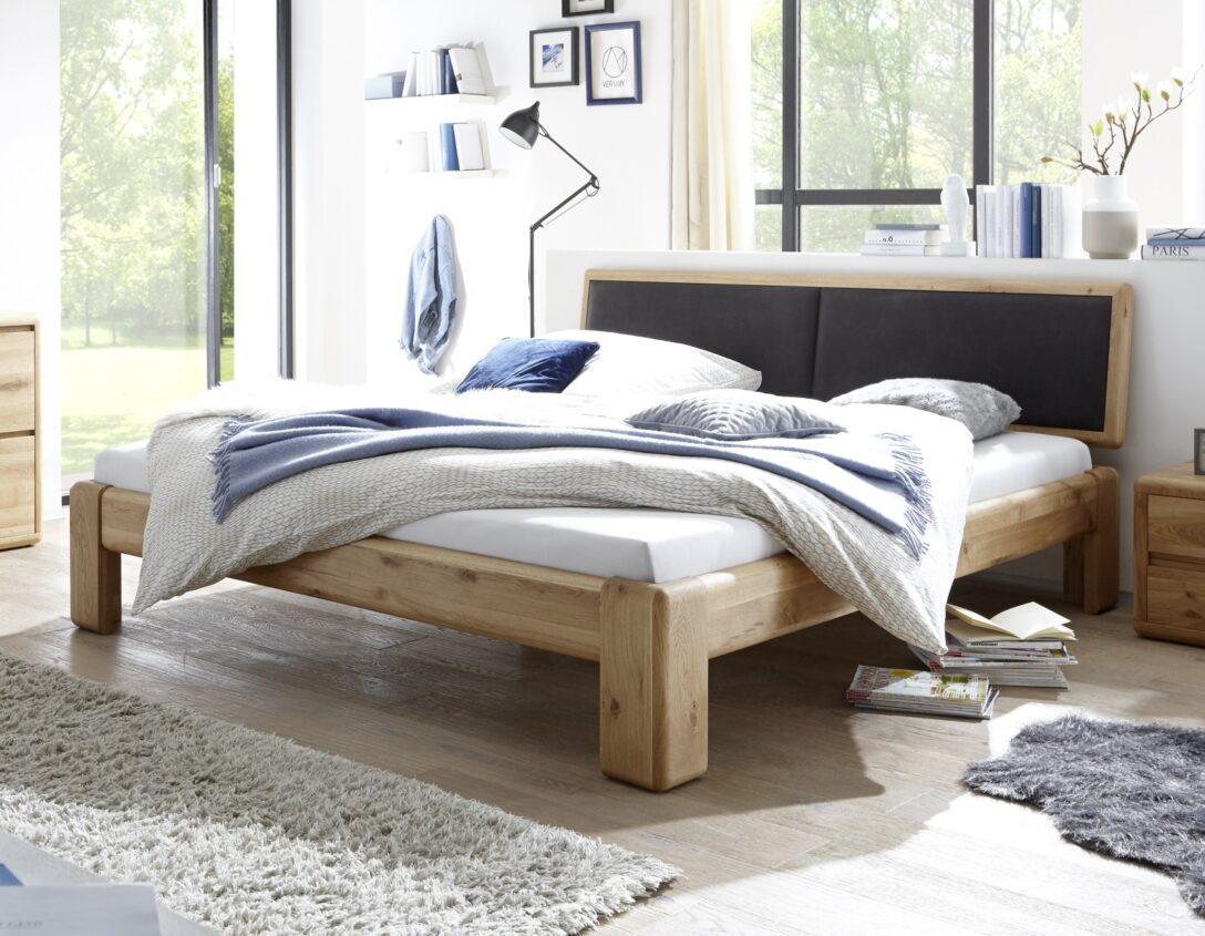 Large Size of Komplettbett 180x220 Schwarz Wildeiche Massivholzbetten Online Kaufen Mbel Bett Wohnzimmer Komplettbett 180x220