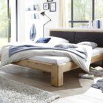 Komplettbett 180x220 Schwarz Wildeiche Massivholzbetten Online Kaufen Mbel Bett Wohnzimmer Komplettbett 180x220