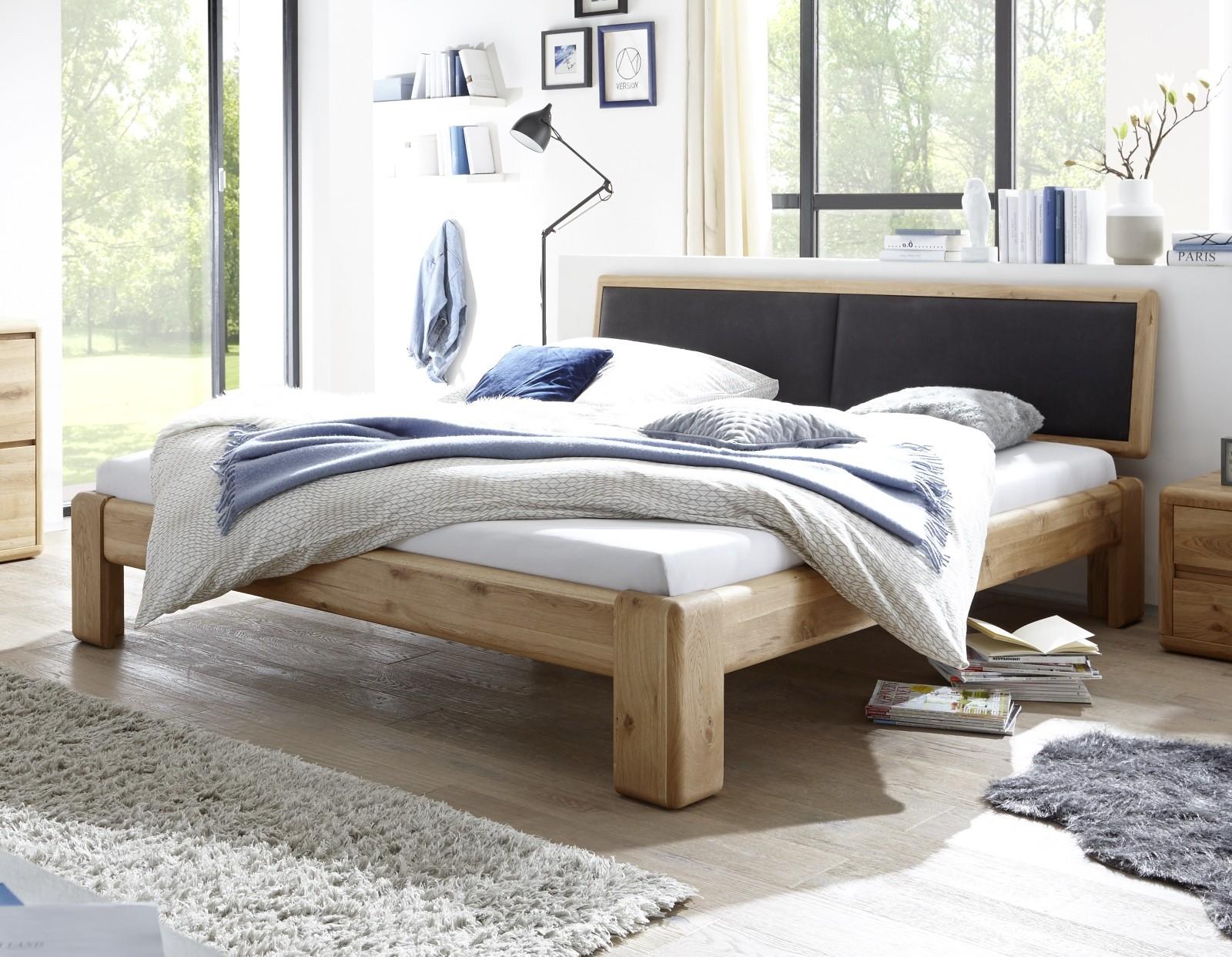 Full Size of Komplettbett 180x220 Schwarz Wildeiche Massivholzbetten Online Kaufen Mbel Bett Wohnzimmer Komplettbett 180x220