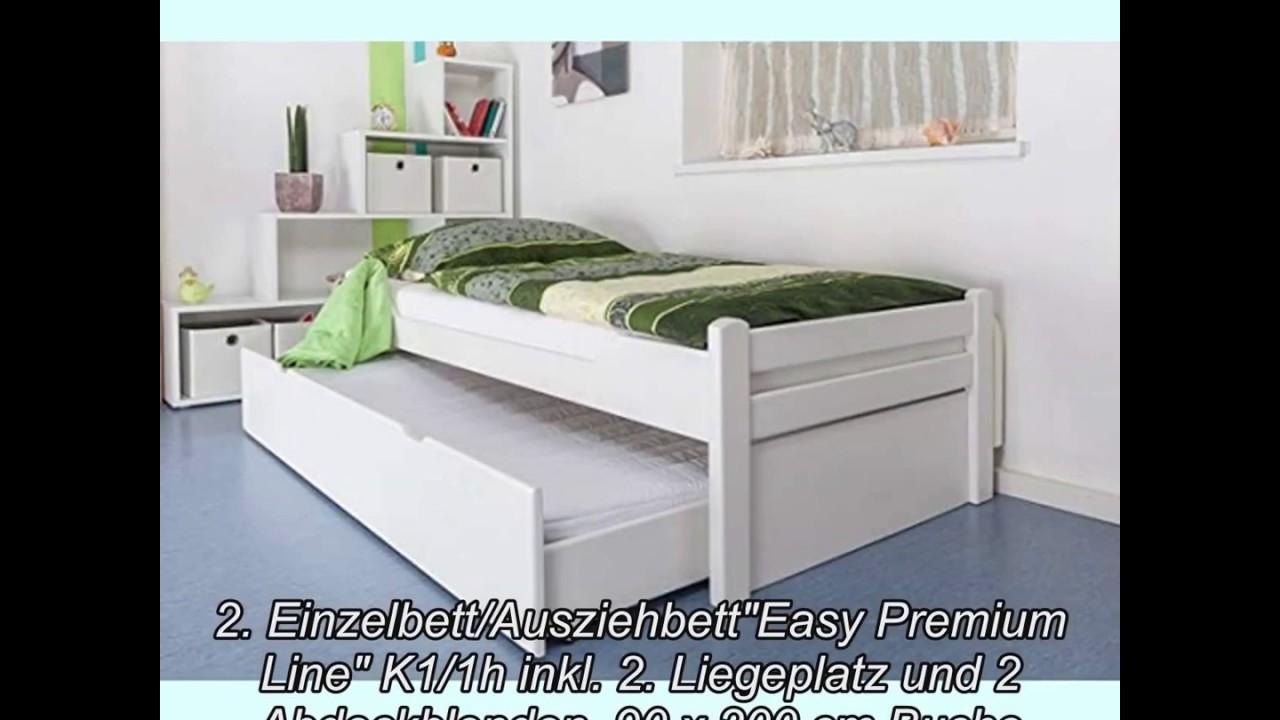 Full Size of Einzelbett Mit Unterbett 10 Besten Ausziehbett In 2018 Youtube Sofa Elektrischer Sitztiefenverstellung Abnehmbaren Bezug Küche E Geräten Günstig Bettkasten Wohnzimmer Einzelbett Mit Unterbett