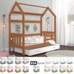 Hausbett 100x200 Mit Unterbett Bettkasten Selber Bauen Real Ticaa 90x200 Bett Weiß Betten Wohnzimmer Hausbett 100x200