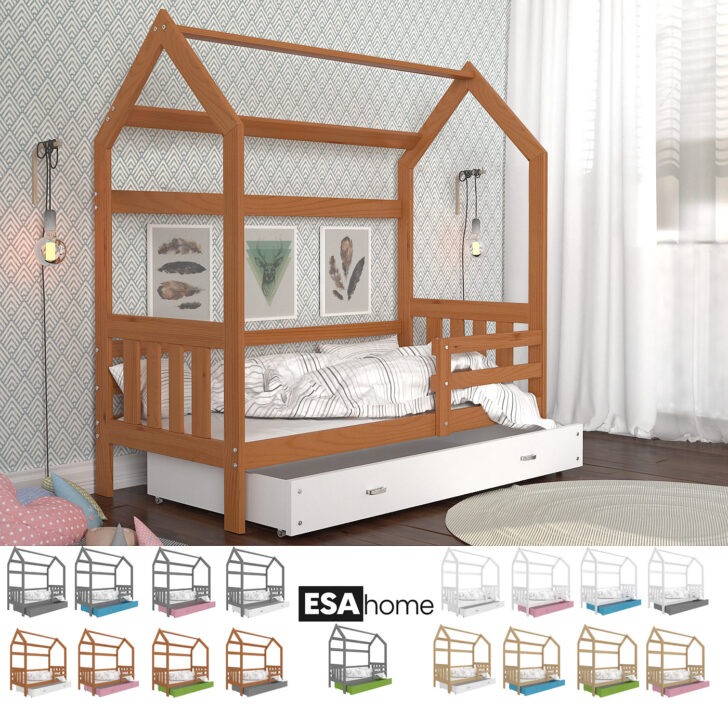 Medium Size of Hausbett 100x200 Mit Unterbett Bettkasten Selber Bauen Real Ticaa 90x200 Bett Weiß Betten Wohnzimmer Hausbett 100x200