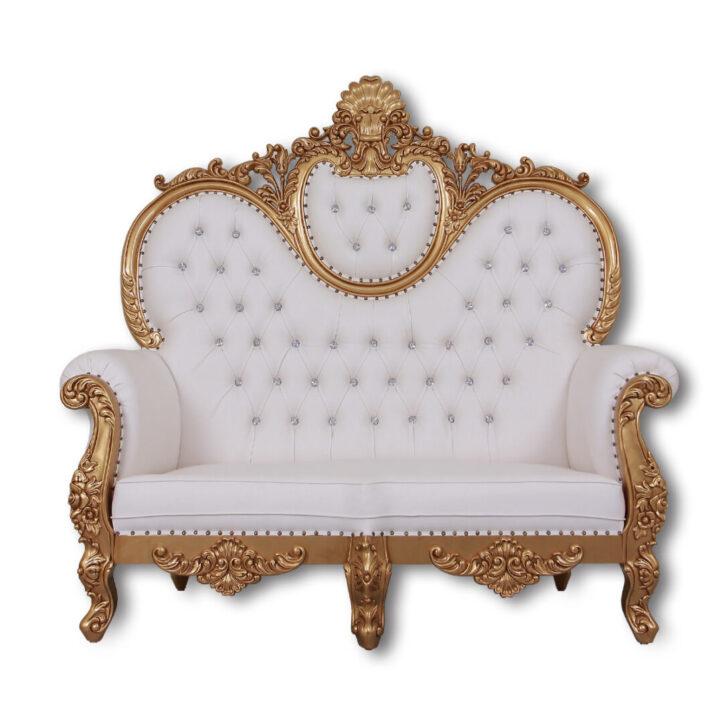 Medium Size of Recamiere Barock Sofa King Chair Luxus Mit Strasssteinen Jb Lashes Trkis U Bett Wohnzimmer Recamiere Barock