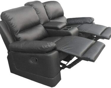 Kinosessel 2er Microfaser Wohnzimmer Kinosessel 2er Microfaser Colourliving Fernsehsessel Relaxsessel Zweisitzer Aus Sofa Grau