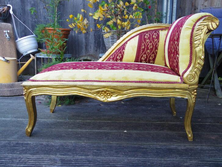 Medium Size of Recamiere Barock Mbel Aufgembelt Unikate Sofa Mit Bett Wohnzimmer Recamiere Barock