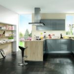 Nobilia Alba Kche Touch 876 Wei Matt Betongrau Wandsticker Mit Küche Einbauküche Wohnzimmer Nobilia Alba