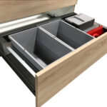Häcker Müllsystem Abfalleimer Auszug Kche Musbacher Esstisch Mit Roma 160 Küche Wohnzimmer Häcker Müllsystem