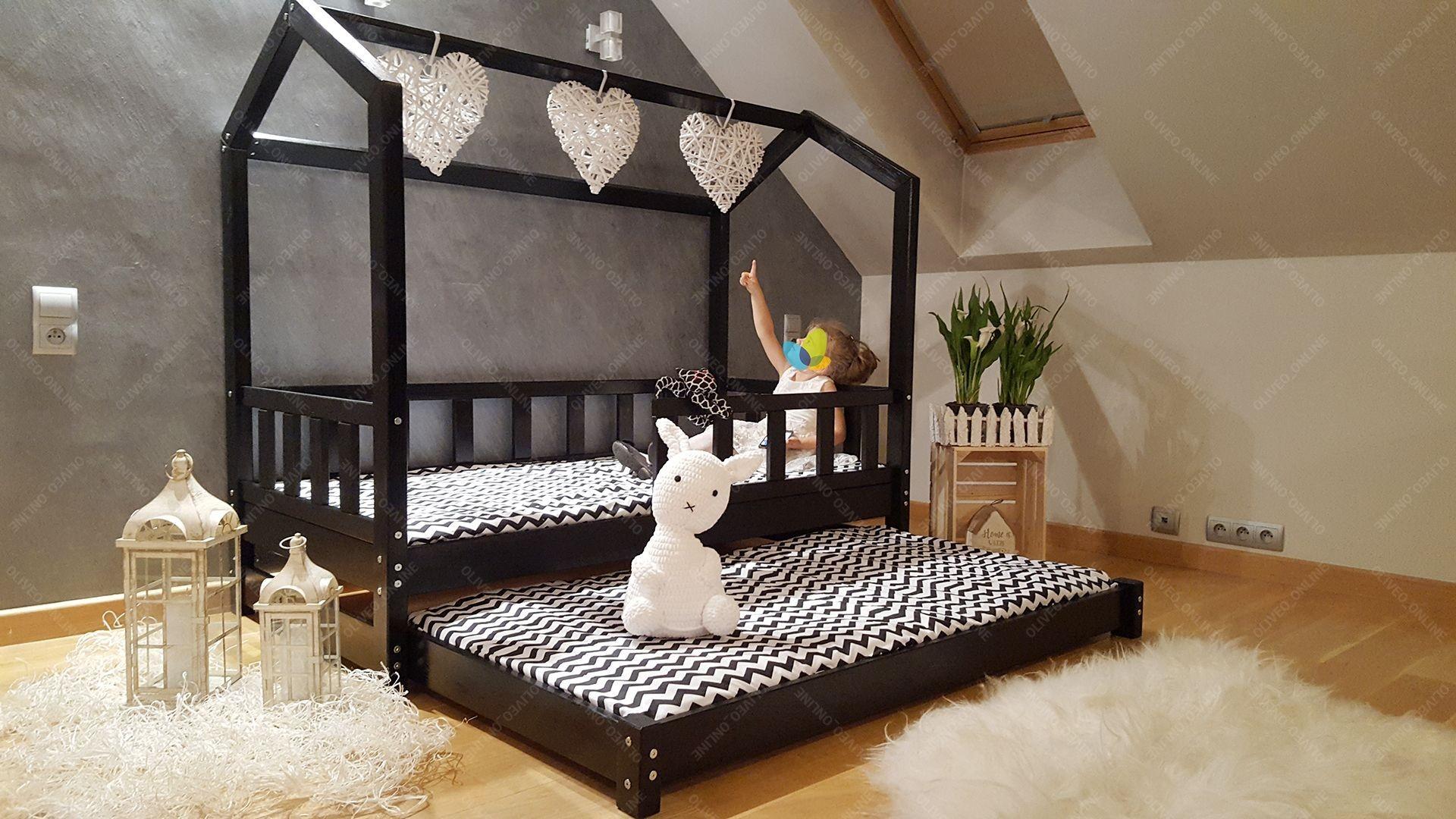 Full Size of Bett Hausbett Bella Mit Sicherheitbarieren Zweites Betten 100x200 Weiß Wohnzimmer Hausbett 100x200