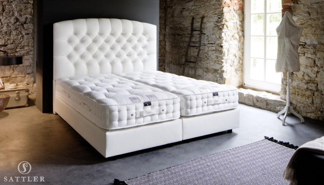 Large Size of Komplettbett 180x220 Boxspringbett Aida Luxusbetten Von Sattler Bett Wohnzimmer Komplettbett 180x220