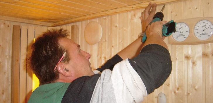 Medium Size of Sauna Selber Bauen Lets Doit Holzprofi Bodengleiche Dusche Nachträglich Einbauen Bett 180x200 Fliesenspiegel Küche Machen Fenster Kosten Neue Einbauküche Wohnzimmer Sauna Selber Bauen Bausatz