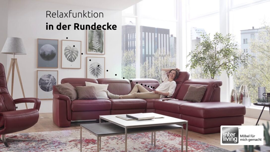 Large Size of Big Sofa Rundecke Interliving Mmz Serie 4052 Youtube Mit Recamiere 3 Teilig Canape Samt Alternatives Karup Tom Tailor Sitzer Grau Kolonialstil U Form Xxl Home Wohnzimmer Big Sofa Rundecke