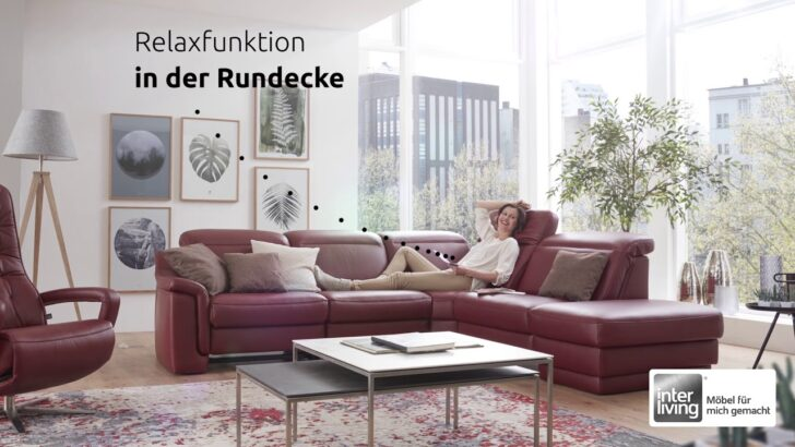 Medium Size of Big Sofa Rundecke Interliving Mmz Serie 4052 Youtube Mit Recamiere 3 Teilig Canape Samt Alternatives Karup Tom Tailor Sitzer Grau Kolonialstil U Form Xxl Home Wohnzimmer Big Sofa Rundecke