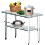Edelstahl Arbeitstisch Gastro Tisch Edelstahltisch Kchentisch Mit Wohnzimmer Beeketal Zerlegetisch