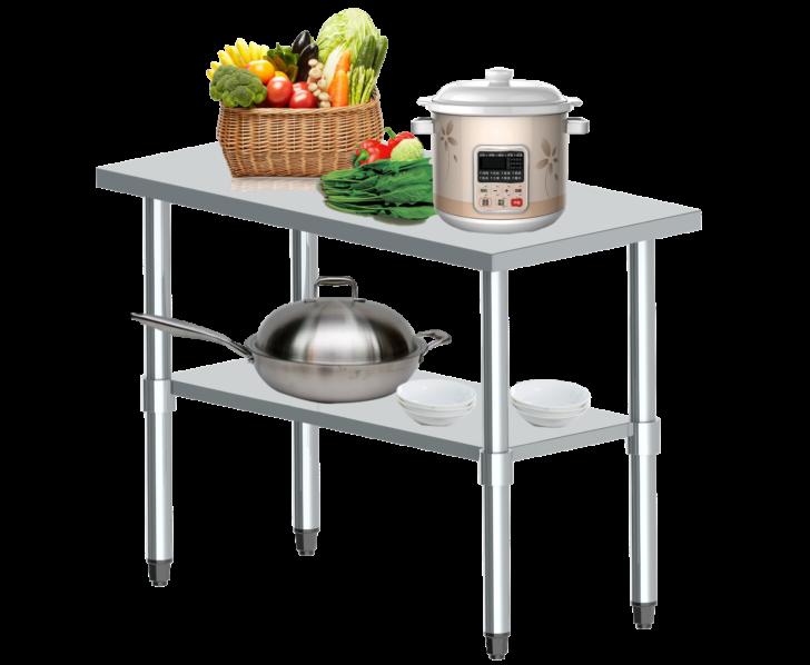 Medium Size of Edelstahl Arbeitstisch Gastro Tisch Edelstahltisch Kchentisch Mit Wohnzimmer Beeketal Zerlegetisch
