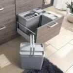 Original Burger Kchen Einbauabfallsammler Set Eins2top Müllsystem Küche Wohnzimmer Häcker Müllsystem