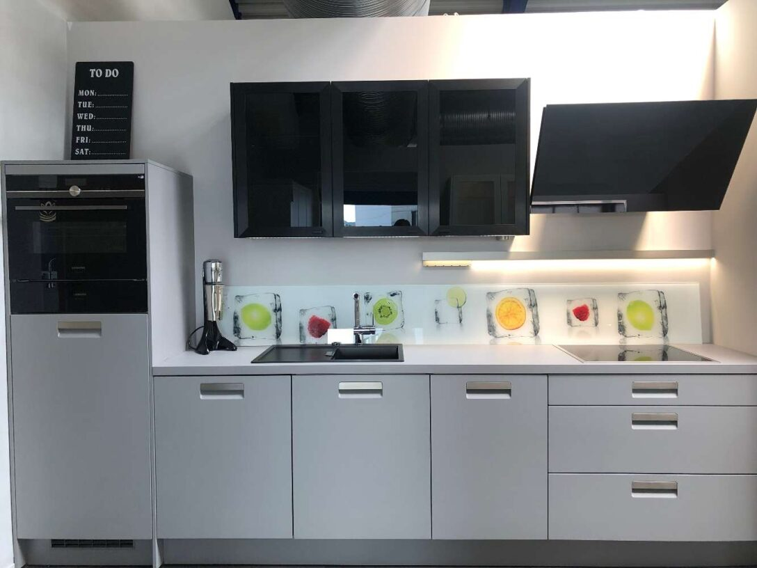 Large Size of Hcker Ausstellungskche Planungswelten Müllsystem Küche Wohnzimmer Häcker Müllsystem