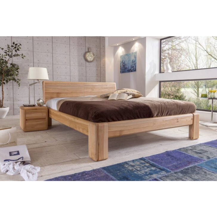 Medium Size of Komplettbett 180x220 Verona Doppelbett Kernbuche Massiv Berlnge Gnstig Im Bett Wohnzimmer Komplettbett 180x220