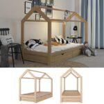 Hausbett 100x200 Mit Unterbett 120x200 Bettkasten Vipack 90x200 Bett Weiß Betten Wohnzimmer Hausbett 100x200