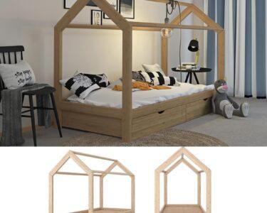 Hausbett 100x200 Wohnzimmer Hausbett 100x200 Mit Unterbett 120x200 Bettkasten Vipack 90x200 Bett Weiß Betten