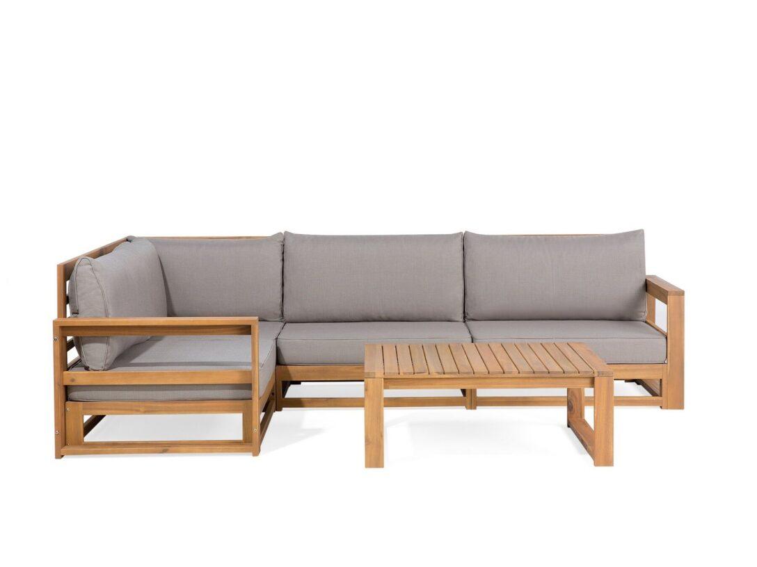 Large Size of Lounge Set Akazienhartholz Braun Timor Gartensofa Real Wohnzimmer Outliv Odense