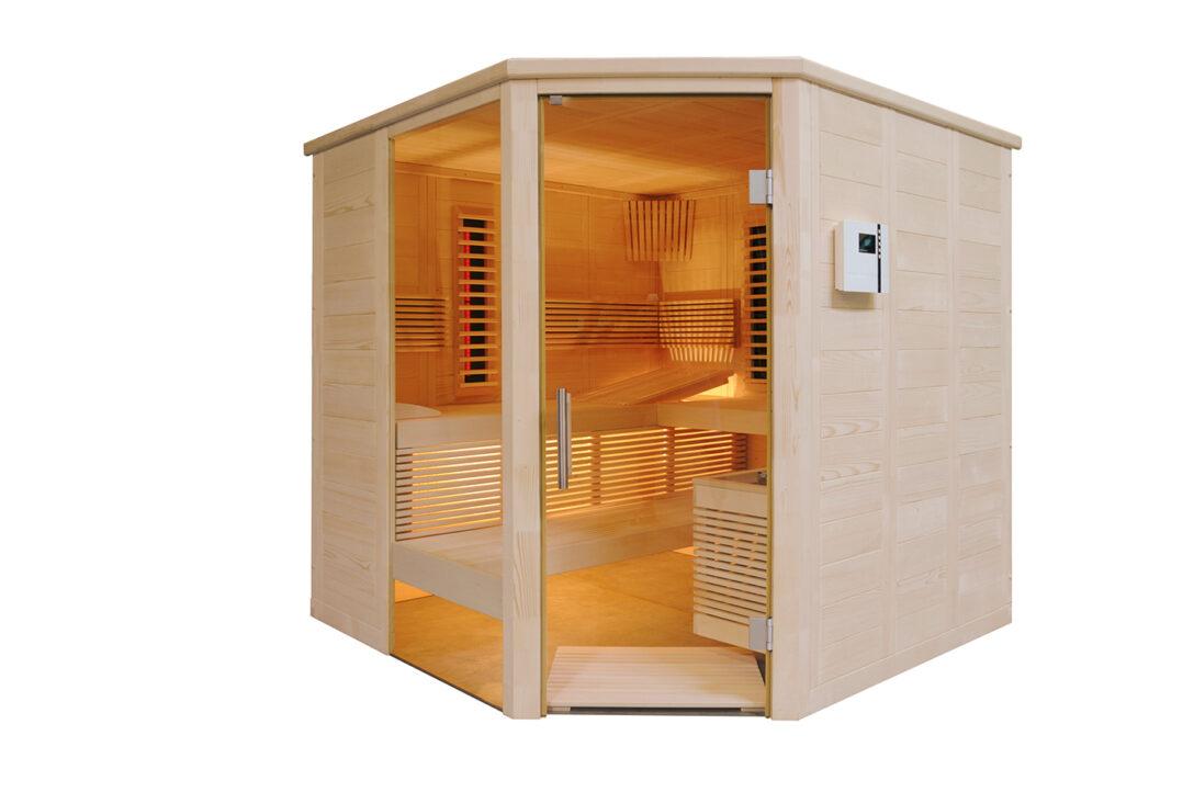 Large Size of Sauna Selber Bauen Bausatz Ohne Selbst 40409 Velux Fenster Einbauen Küche Boxspring Bett Regale 140x200 Dusche Rolladen Nachträglich Einbauküche Wohnzimmer Sauna Selber Bauen Bausatz