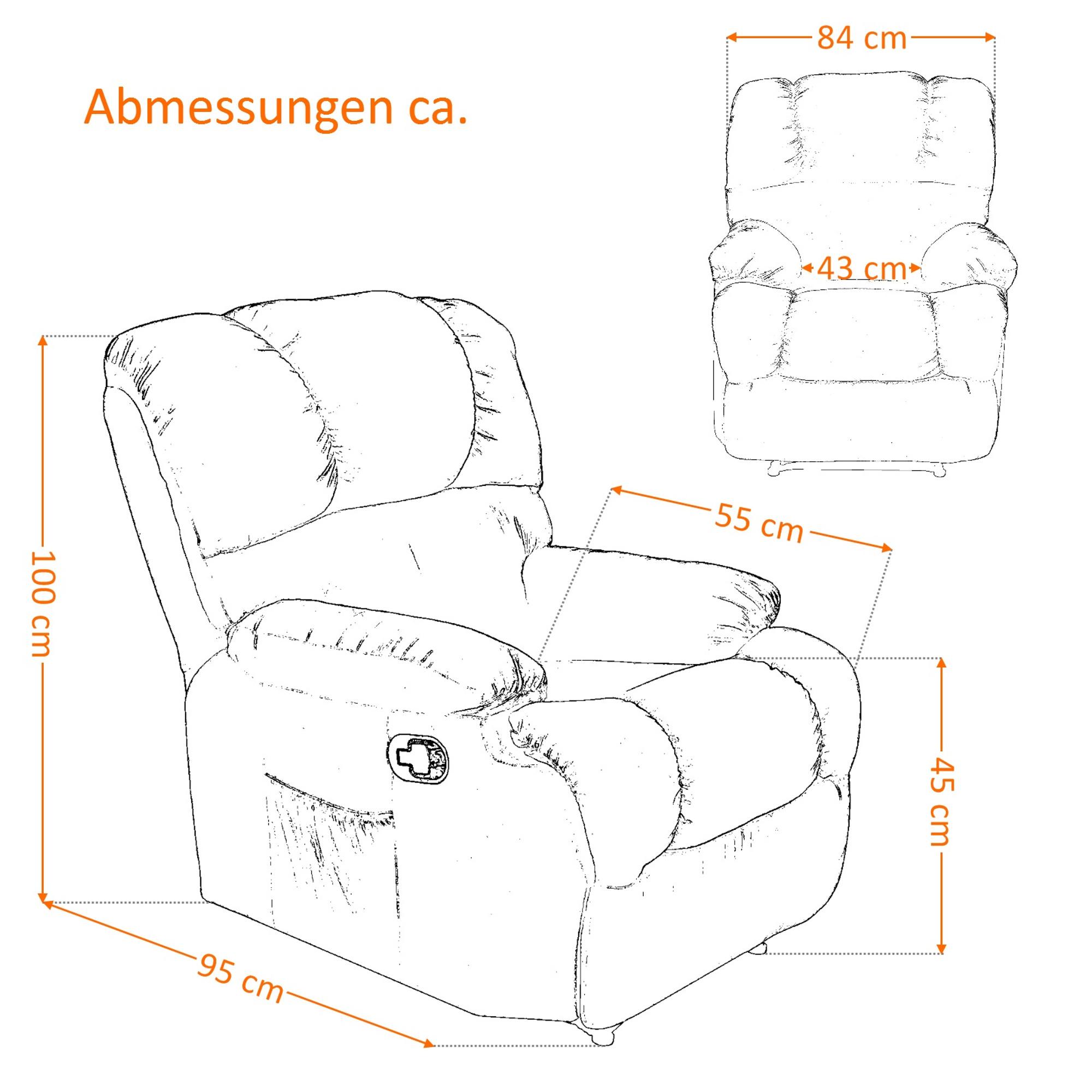 Full Size of Fernsehsessel Aus Stoff 2er Sofa Grau Microfaser Wohnzimmer Kinosessel 2er Microfaser