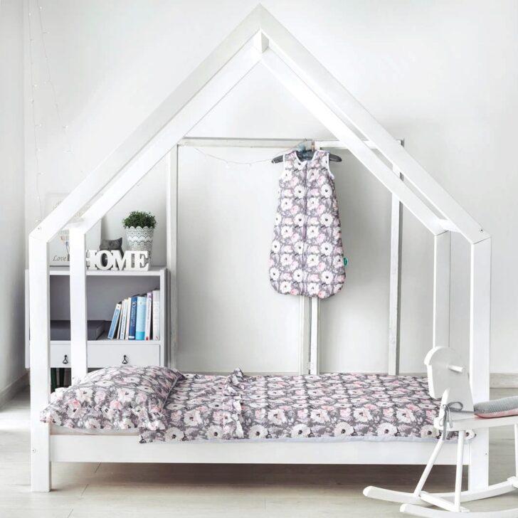 Medium Size of Hausbett Kinderbett Mit Sicherheitbarriere Farben Pino Skandi Betten 100x200 Bett Weiß Wohnzimmer Hausbett 100x200