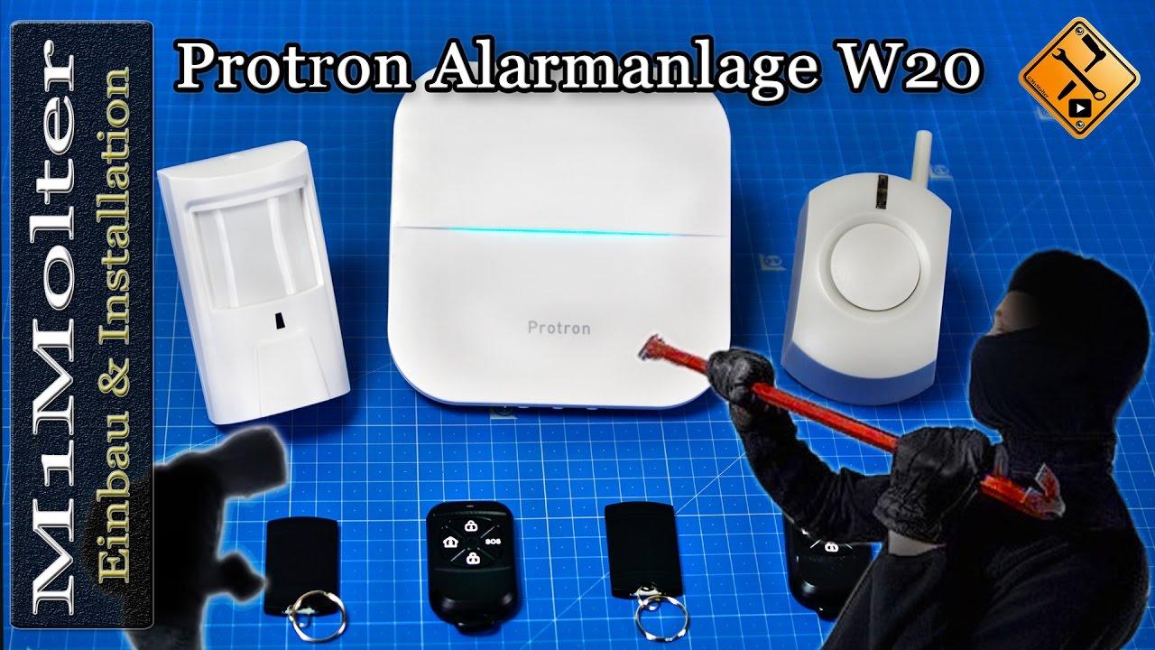 Full Size of Protron W20 Alarmanlage Einbau Inbetriebnahme Und Installation Wohnzimmer Protron W20