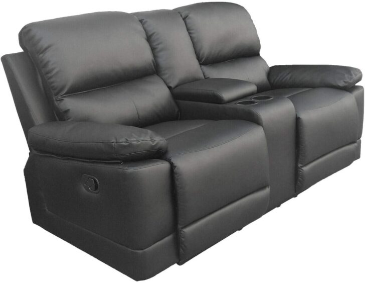 Medium Size of Kinosessel 2er Microfaser Colourliving Fernsehsessel Relaxsessel Zweisitzer Aus Sofa Grau Wohnzimmer Kinosessel 2er Microfaser