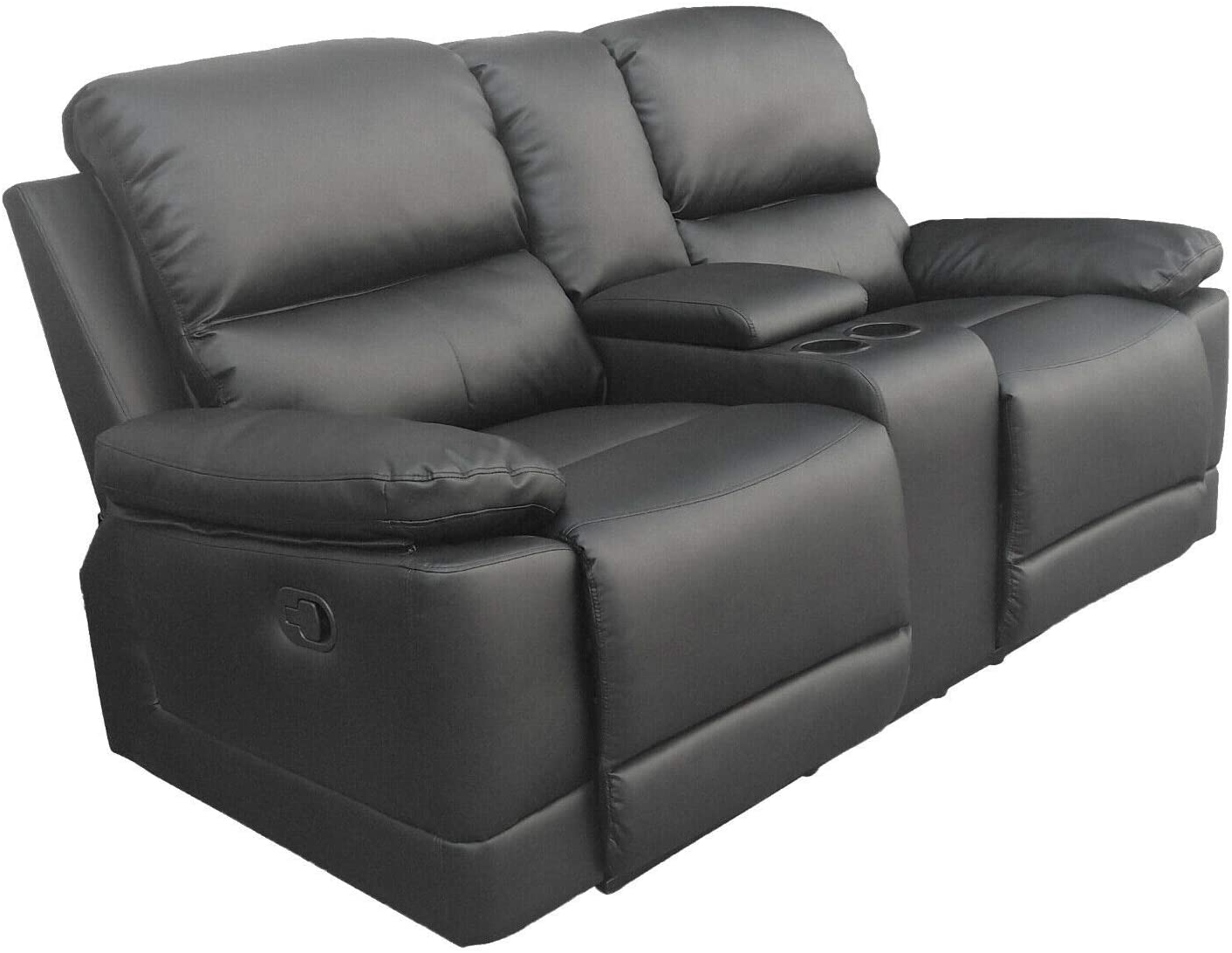 Full Size of Kinosessel 2er Microfaser Colourliving Fernsehsessel Relaxsessel Zweisitzer Aus Sofa Grau Wohnzimmer Kinosessel 2er Microfaser