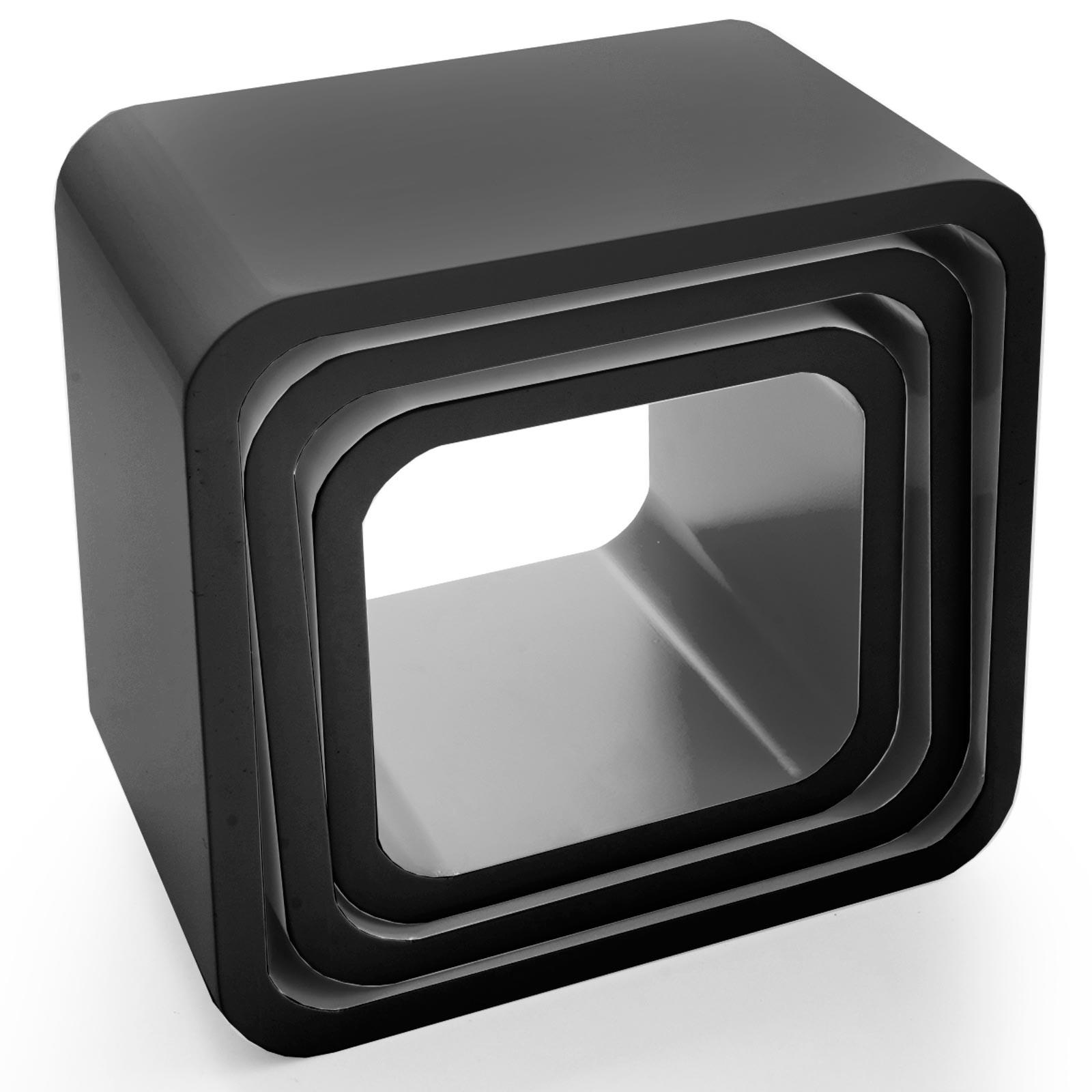 Full Size of Cube Regal Weiß Hochglanz Wandregal 3 Teilig 4 Farben Daytonde Wohnzimmer Vitrine Badezimmer Hochschrank Bücher Regale Kleine Bad Hängeschrank Holz Tisch Wohnzimmer Cube Regal Weiß Hochglanz