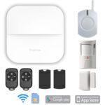 Protron W20 App Smart Home Bedienungsanleitung Alarmanlage Proton Gsm Gprs Wifi Komplett Set Wohnzimmer Protron W20