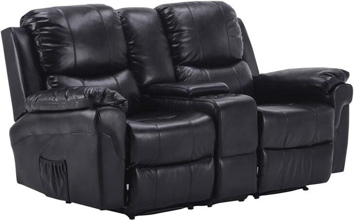 Kinosessel 2er Microfaser Mcombo Fernsehsessel Relaxsessel 2 Sitzer Heimkino Sofa Grau Wohnzimmer Kinosessel 2er Microfaser