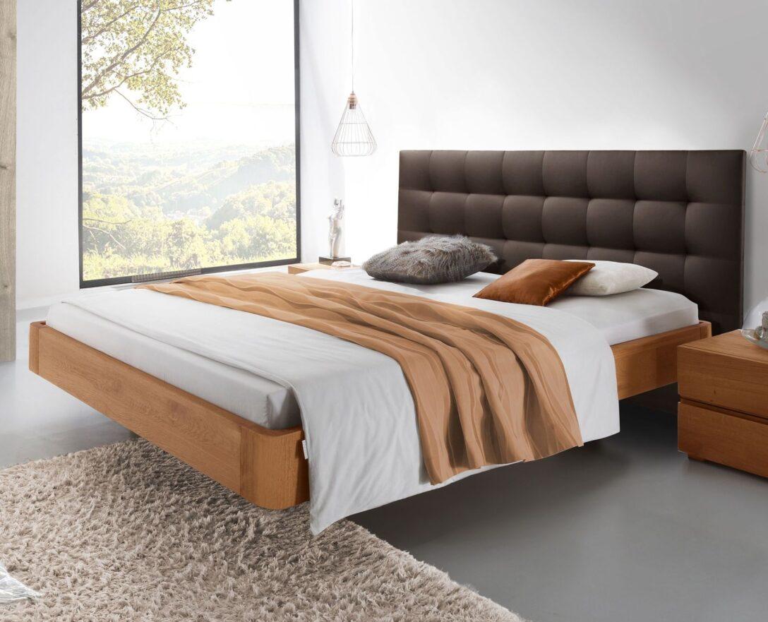 Large Size of Komplettbett 180x220 Bett Schwebende Optik Aus Eiche Natur Behandelt Panama Wohnzimmer Komplettbett 180x220