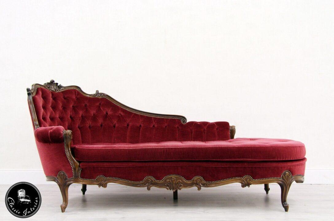 Large Size of Recamiere Barock Daybed Ottomane Chippendale Shabby Antik Sofa Mit Bett Wohnzimmer Recamiere Barock