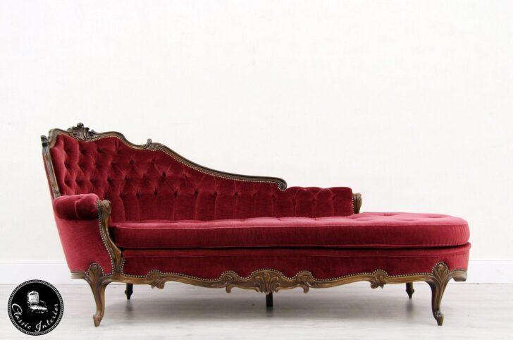 Medium Size of Recamiere Barock Daybed Ottomane Chippendale Shabby Antik Sofa Mit Bett Wohnzimmer Recamiere Barock