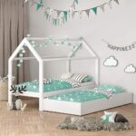 Hausbett 100x200 Wohnzimmer Hausbett 100x200 Vicco Kinderbett Wiki 90x200 Cm Wei Schlafplatz Schubladen Betten Bett Weiß