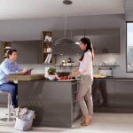 Nobilia Sand Luhochglanz Trifft Auf Gradliniges Design Ottoversand Betten Küche Einbauküche Wohnzimmer Nobilia Sand