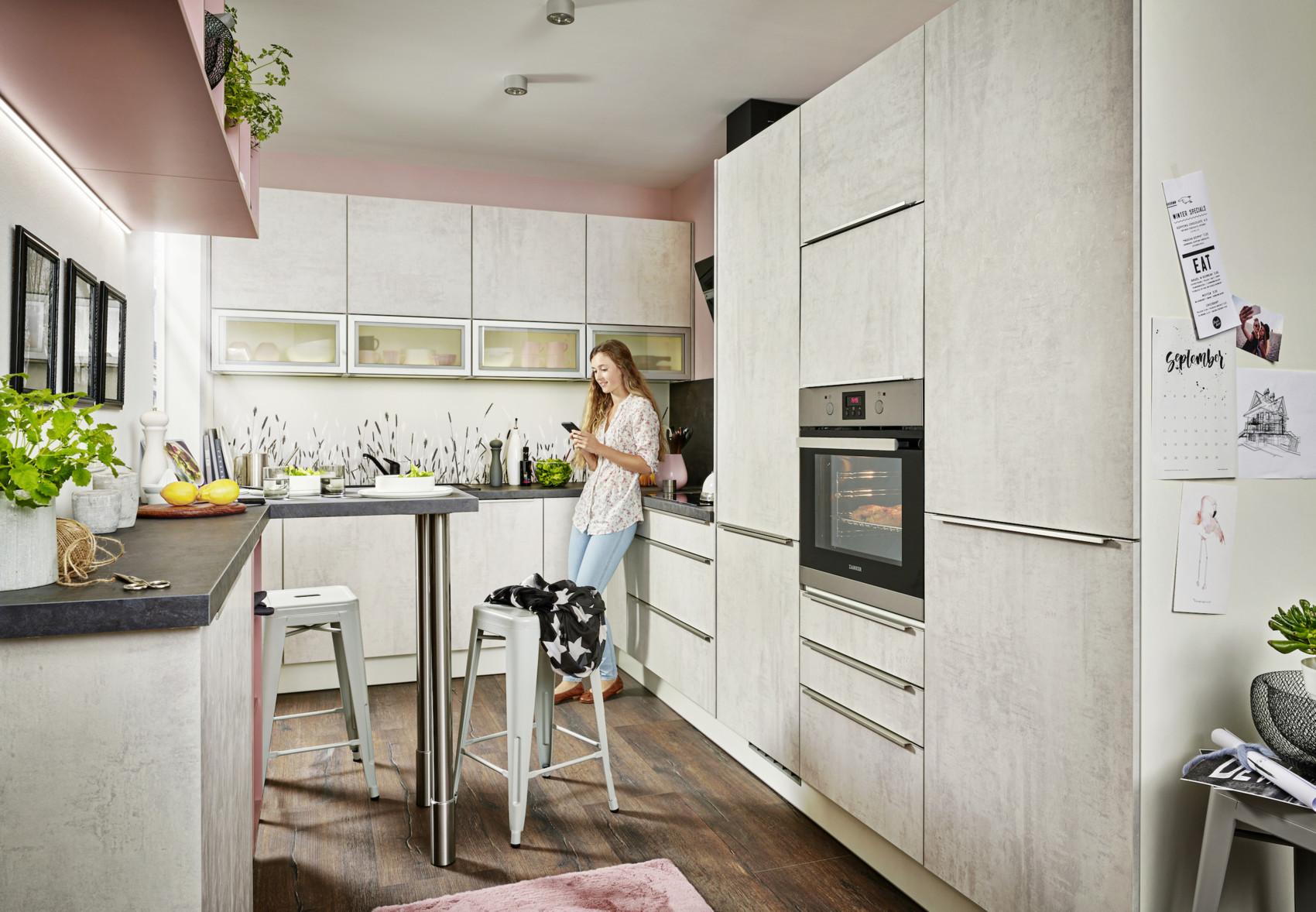 Full Size of Küchenzeile Home Kchen Küche Bett Wohnzimmer Pino Küchenzeile
