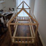 Hausbett 100x200 Diy Fr Betten Bett Weiß Wohnzimmer Hausbett 100x200