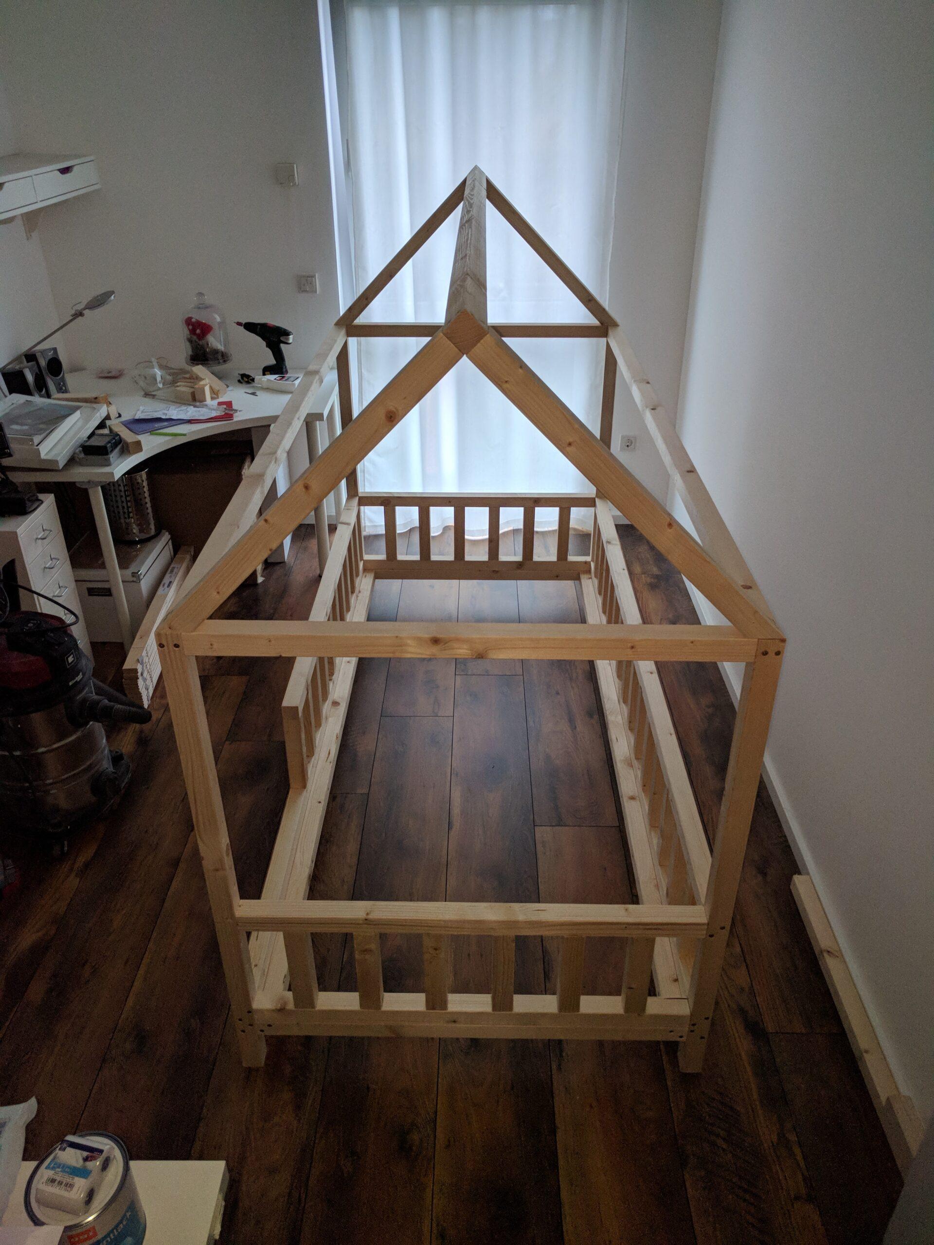 Full Size of Hausbett 100x200 Diy Fr Betten Bett Weiß Wohnzimmer Hausbett 100x200