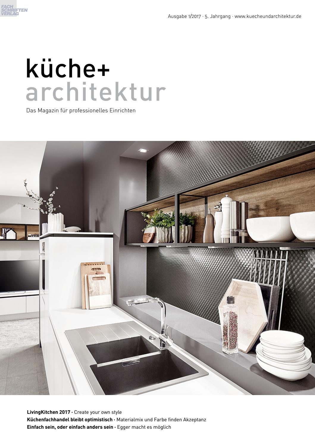 Full Size of Kche Architektur 1 2017 By Fachschriften Verlag Stehhilfe Küche Hochglanz Weiss Ebay Ausstellungsstück Miniküche Einbauküche Mit Elektrogeräten Wohnzimmer Nolte Küche Blende Entfernen