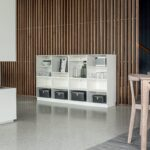 Modulregal Norra 622 Skovby Modern Lackiertes Holz Wohnzimmer Combine Modulregal
