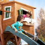 765 Garten Spielhaus Küche Ausstellungsstück Bett Holz Kunststoff Kinderspielhaus Wohnzimmer Spielhaus Ausstellungsstück