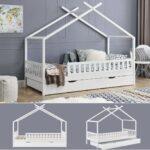 Hausbett 100x200 Mit Unterbett 90x200 Vipack Bettkasten 120x200 Real Und Bett Weiß Betten Wohnzimmer Hausbett 100x200