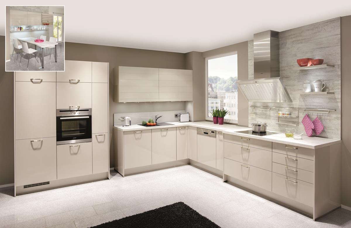 Full Size of High Gloss Dirragh Kitchens And Interiors Küche Nobilia Einbauküche Ottoversand Betten Wohnzimmer Nobilia Sand